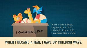 1 Corinthians 1311 [widescreen]